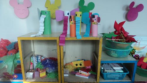 玩教具的技能评比; 幼儿园室内墙壁设计;